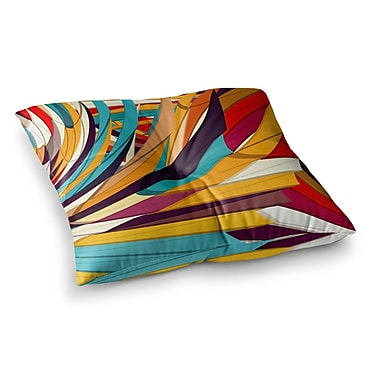 East Urban Home Demy World by Danny Ivan Floor Pillow; 26'' x 26''