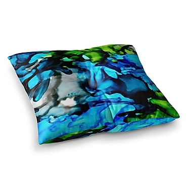 East Urban Home Chesapeake Bay by Claire Day Floor Pillow; 23'' x 23''