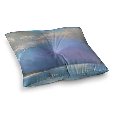 East Urban Home Heading Out by Carol Schiff Floor Pillow; 26'' x 26''