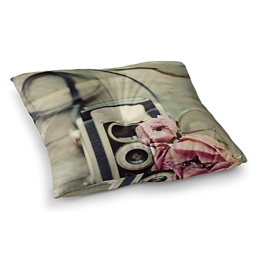 East Urban Home I Have But Two Loves by Cristina Mitchell Floor Pillow; 26'' x 26''