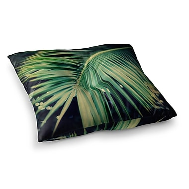 East Urban Home Palm Frond Nature by Angie Turner Floor Pillow; 26'' x 26''
