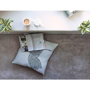 East Urban Home Hummingbird by Belinda Gillies Floor Pillow; 23'' x 23''