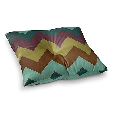 East Urban Home Mountain High Art Object by Catherine McDonald Floor Pillow; 23'' x 23''