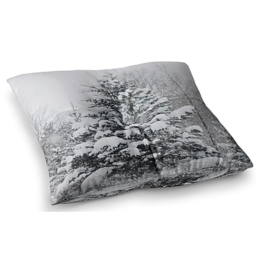 East Urban Home Cool Yule Nature Photography by Chelsea Victoria Floor Pillow; 23'' x 23''