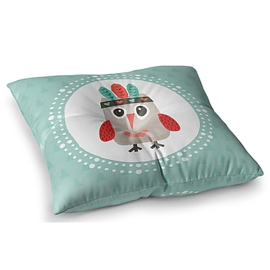 East Urban Home Hipster Owlet by Daisy Beatrice Floor Pillow; 23'' x 23''