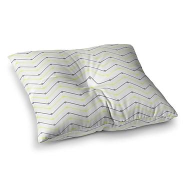 East Urban Home Witty by CarolLynn Tice Floor Pillow; 23'' x 23''