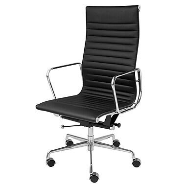 Orren Ellis Laticia High-Back Executive Chair; Black