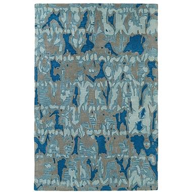 Orren Ellis Charlayne Hand Tufted Blue/Gray Area Rug; 2' x 3'