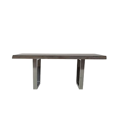 17 Stories Reinaldo Coffee Table; Gray Wash