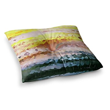 East Urban Home Turaluraluraluuu Pixel by Iris Lehnhardt Floor Pillow; 26'' x 26''