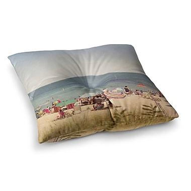 East Urban Home Summertime by Jillian Audrey Floor Pillow; 23'' x 23''