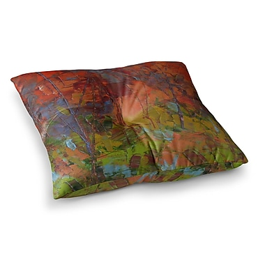 East Urban Home Fall Colours Painting by Jeff Ferst Floor Pillow; 26'' x 26''
