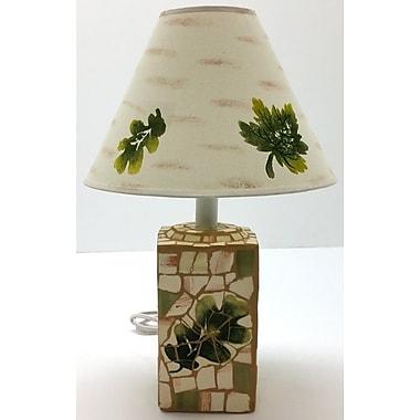 Loon Peak Occoneechee Mosaic Ceramic 19'' Table Lamp