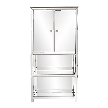 Orren Ellis Chappel Mirrored Armoire