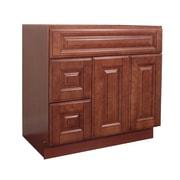 NGY Stone & Cabinet Door Left 36'' Single Bathroom Vanity Base