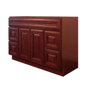 NGY Stone & Cabinet Maple 60  Single Bathroom Vanity Base