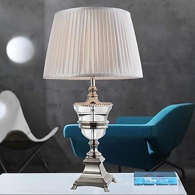 CrystalWorld 28'' Table Lamp