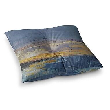 East Urban Home Caribbean Sunset by Carol Schiff Floor Pillow; 23'' x 23''