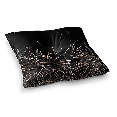 East Urban Home Fireworks by Catherine McDonald Floor Pillow; 23'' x 23''