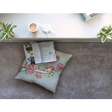 East Urban Home Feng Shui by Carina Povarchik Floor Pillow; 23'' x 23''