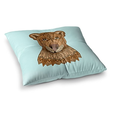 East Urban Home Lioness by Art Love Passion Floor Pillow; 26'' x 26''