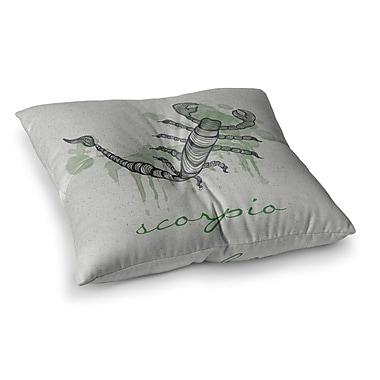 East Urban Home Scorpio by Belinda Gillies Floor Pillow; 23'' x 23''