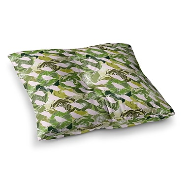 East Urban Home Aisha Pattern by Anchobee Floor Pillow; 26'' x 26''