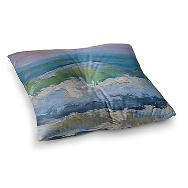 East Urban Home The Pastel Sea by Carol Schiff Floor Pillow; 26'' x 26''
