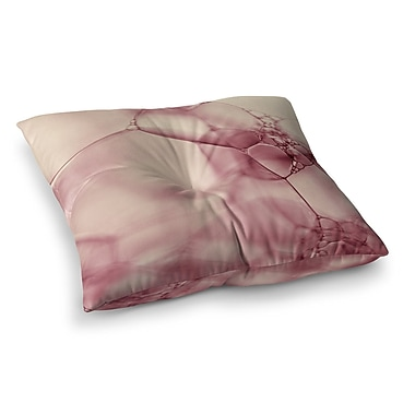 East Urban Home Bubbles by Ingrid Beddoes Floor Pillow; 23'' x 23''