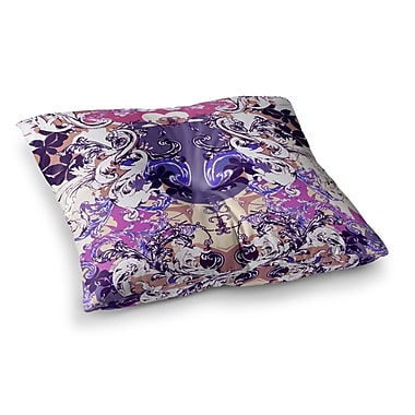 East Urban Home Barroque in Love by Fernanda Sternieri Floor Pillow; 23'' x 23''