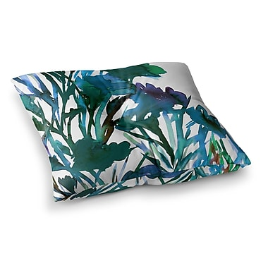East Urban Home Petal for Your Thoughts by Ebi Emporium Floor Pillow; 23'' x 23''