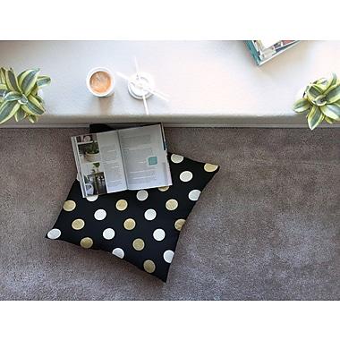 East Urban Home Dots Floor Pillow; 26'' x 26''