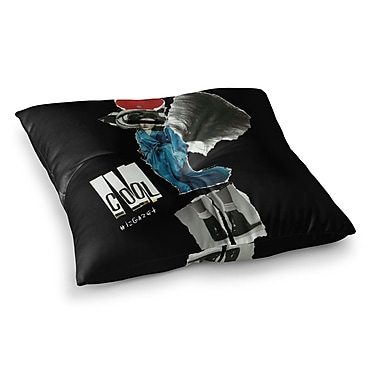 East Urban Home Cool by Jina Ninjjaga Floor Pillow; 26'' x 26''