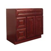 NGY Stone & Cabinet Maple 36  Single Bathroom Vanity Base