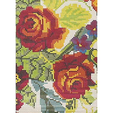 August Grove Trudy Light Green/Red Area Rug