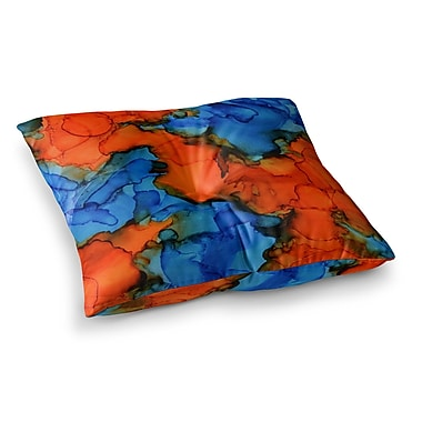 East Urban Home Mile High by Claire Day Floor Pillow; 23'' x 23''