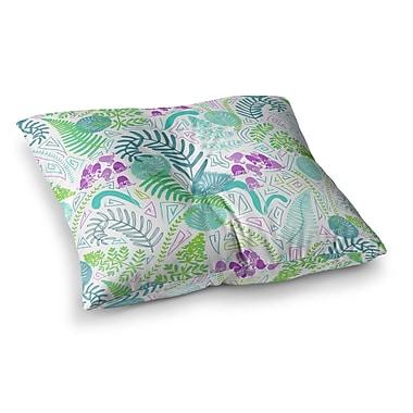 East Urban Home Fern Forest by Anneline Sophia Floor Pillow; 26'' x 26''