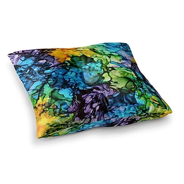 East Urban Home Gra Siorai by Claire Day Floor Pillow; 23'' x 23''