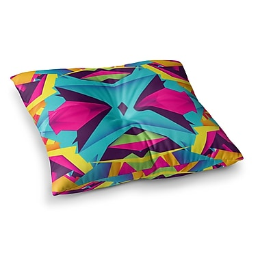 East Urban Home The Youth by Danny Ivan Floor Pillow; 23'' x 23''