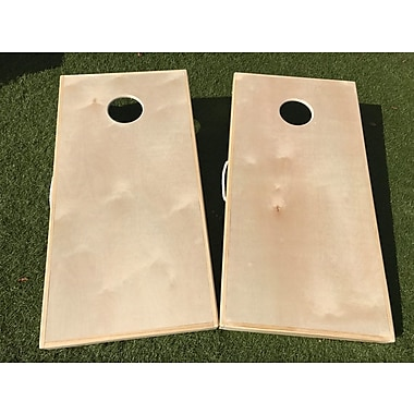 WestGeorgiaCornhole Standard Plain Jane Do It Yourself 10 Piece Cornhole Set