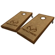 WestGeorgiaCornhole Realtree Simple Stained 10 Piece Cornhole Set