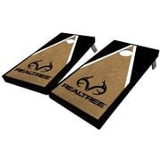 WestGeorgiaCornhole Realtree Triangle 10 Piece Cornhole Set