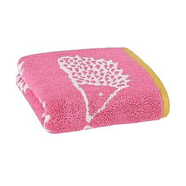 Scion Spike Jacquard Hand Towel; Azalea