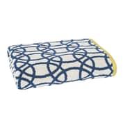 Scion Lace Bath Towel; Indigo