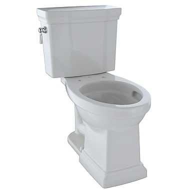 Toto Promenade II Dual Flush Elongated Two-Piece Toilet; Colonial White