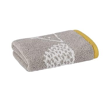 Scion Spike Jacquard Washcloth; Gray