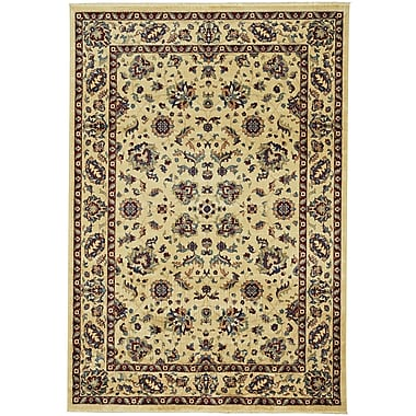 Astoria Grand Tobar Keshan Sand Area Rug; 7'10'' x 11'
