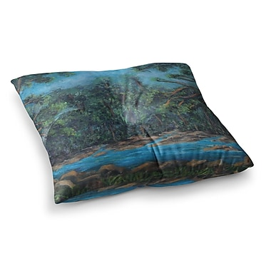 East Urban Home Don't Cut Me Down Nature by Cyndi Steen Floor Pillow; 23'' x 23''