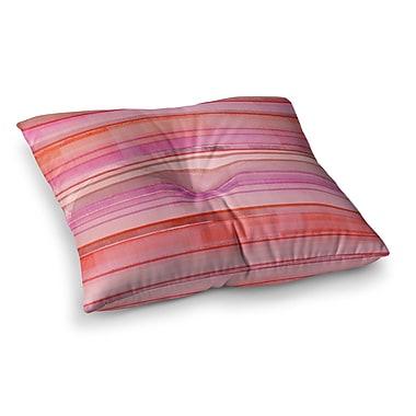 East Urban Home Starwberry Shortcake by CarolLynn Tice Floor Pillow; 23'' x 23''