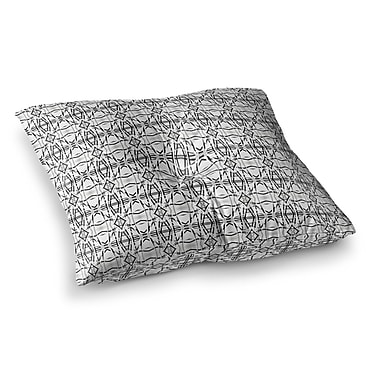 East Urban Home Mixed Together by Carollynn Tice Floor Pillow; 26'' x 26''